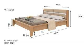 giường ngủ rossano BED 110