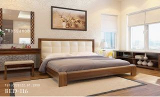 giường ngủ rossano BED 116