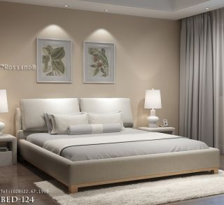 giường ngủ rossano BED 124