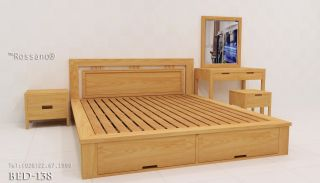 giường ngủ rossano BED 138