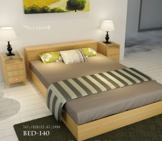 giường ngủ rossano BED 140