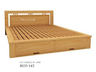 giường ngủ rossano BED 143