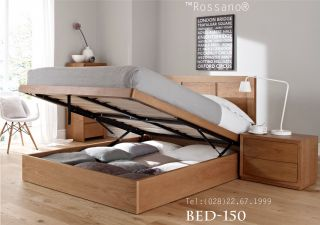 giường ngủ rossano BED 150