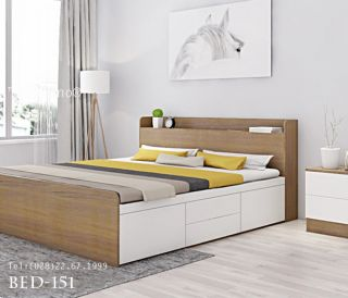 giường ngủ rossano BED 151