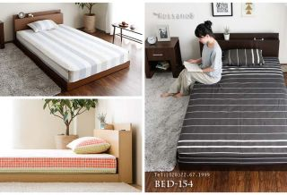 giường ngủ rossano BED 154