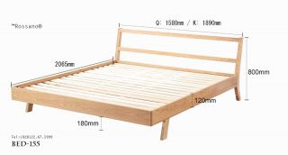 giường ngủ rossano BED 155