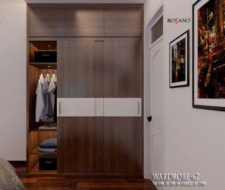 Tủ quần áo rossano 67