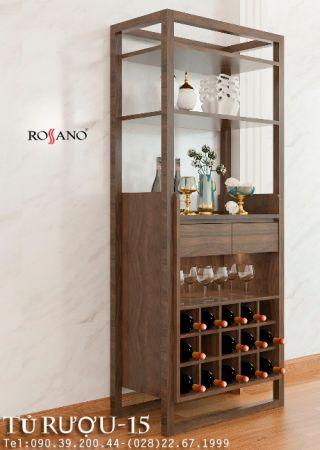 Tủ rượu rossano 15