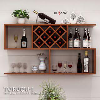 Tủ rượu rossano 16