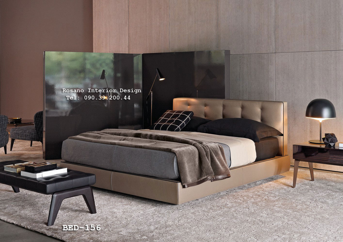 Giường ngủ Rosano